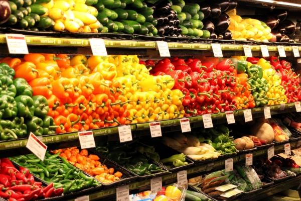 superbunte Gemüseauswahl